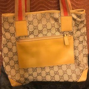 Gucci small canvas bag